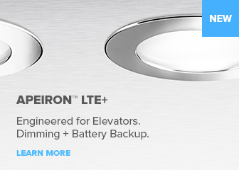Apeiron LTE+ Elevator LED Lighting