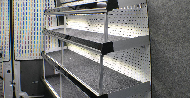 Transit Shelving LED